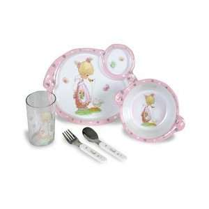 Precious Moments Boxed Mealtime Set   Goose Girl