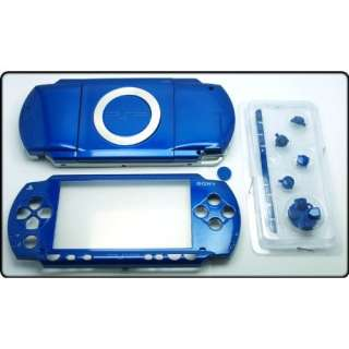 Metallic Blue   Sony PSP 1000 Full Housing Shell Cover