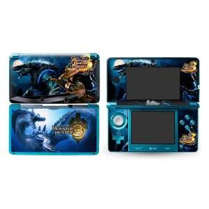 Monster Hunter Design Vinyl Skins for Nintendo 3ds