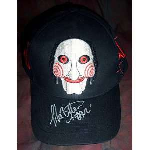 BUTTERS (RAZOR WIRE MAN) AUTOGRAPHED SAW PUPPET HAT Everything Else