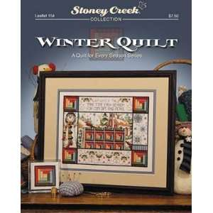 Winter Quilt   Cross Stitch Pattern Arts, Crafts & Sewing