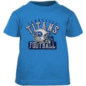Reebok Tennessee Titans Toddler Light Blue Helmet T shirt