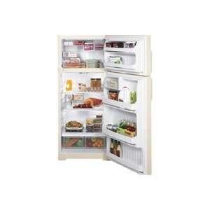 GE Hotpoint 18.2 Cu Ft Bisque Top Freezer Refrigerator Appliances
