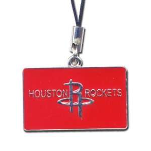 Official Licensed Houston Rockets Square Shaped Logo Charm