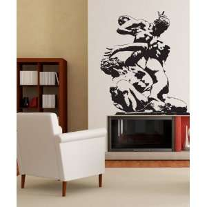 Vinyl Wall Decal Sticker Roman Figure Statue size 60inX52in item
