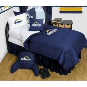 San Diego Chargers NFL Bedding   Complete Set Sports