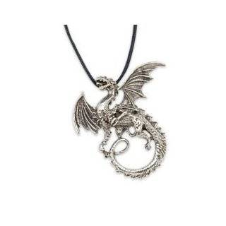 Gothic Sacred Dragon Star of Solomon Charm Pendant Necklace Jewelry