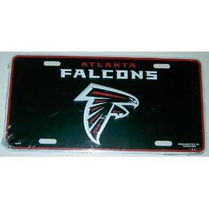 Atlanta Falcons Logo License Plate