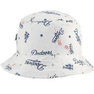 New Era L.A. Dodgers Infant White Baby Bucket Hat