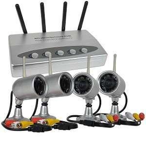 2.4GHz Wireless 4 Channel Standalone Network DVR Home