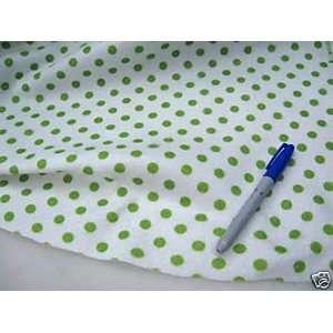 Fabric Printed Felt Stocking Christmas Polka Dots HH253 By