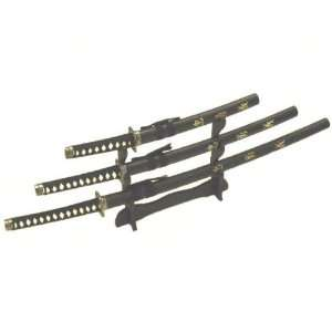 3pc Set Samurai Sword Set (#K0021 4C) Everything Else