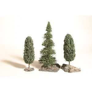 Trees: 1 Fir, 2 Deciduous with bases: Toys & Games