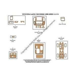 Toyota Land Cruiser Dash Trim Kit 98 02   31 pieces   Green Carbon