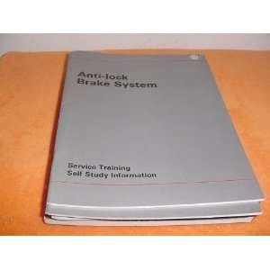 Anti Lock Brake System Service Training Self Study