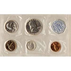1960 SMALL DATE PROOF SET