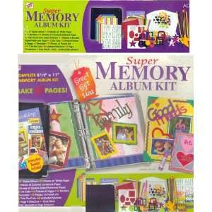 Super Memory Album Kit Arts, Crafts & Sewing