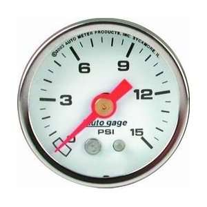 Auto Meter 2175 1 1/2IN PRESSURE GAUGE Automotive