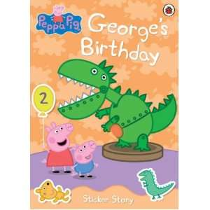 peppa pig: georges birthday: Ladybird: 9781846468230: