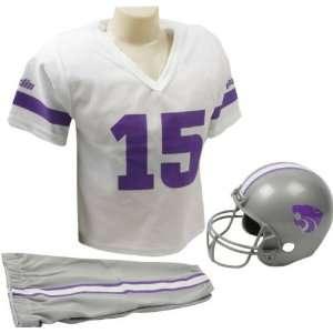 New England Patriots Kids Youth Football Helmet Uniform Set