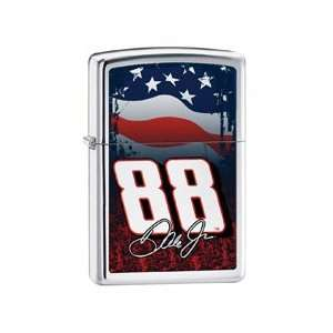 Dale Jr. with Flag Zippo Lighter *Free Engraving (optional
