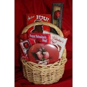 Happy Valentines Day Gift Basket