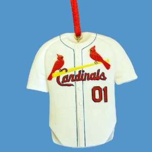 Pack of 12 St. Louis Cardinals Jersey Christmas Ornaments
