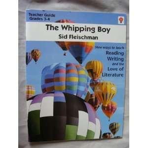 The whipping boy, by Sid Fleischman Teacher Guide
