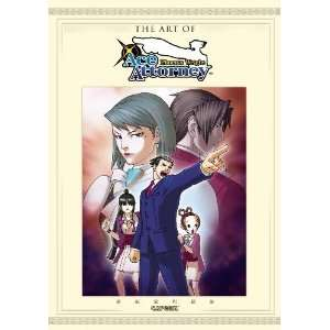 The Art of Phoenix Wright Ace Attorney [Paperback] Capcom Books