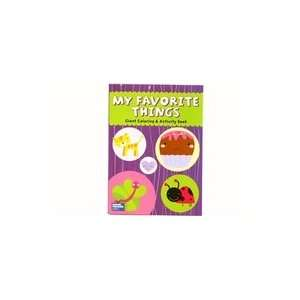 My Favorite Things Giant Coloring & Activity Book