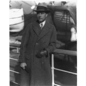 Dr. Roy C. Andrews,on board AQUITANIA,en route for London