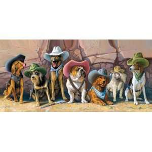 Bryan Moon The Magnificent Seven Jigsaw Puzzle 1000pc Toys & Games