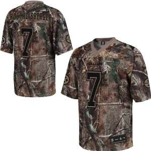 Reebok Pittsburgh Steelers Ben Roethlisberger Realtree Replica Jersey