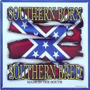 Dixie Outfitters Southern Born Bred Made in the South Retro Vintage