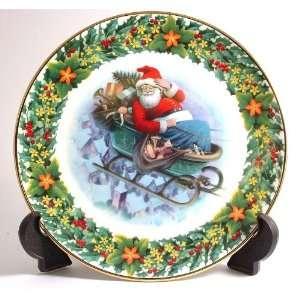 Royal Albert The Longest Night christmas plate by Bob