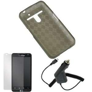 GTMax 3 pc Accessory Bundle Kit for Verizon LG Revolution