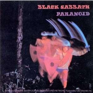 Black Sabbath   Paranoid Decal   Sticker Automotive