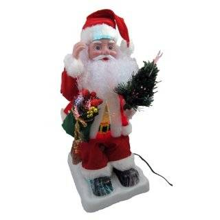 18 Battery Operated Musical Animated Santa Claus Lighted