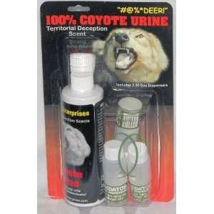 Coyote Urine Combo W/ 3 Disp:  Pet Supplies