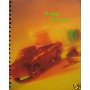1997 Dodge Dakota pickup truck press kit