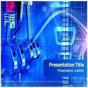 Six Stroke Engine Powerpoint Template   Six Stroke Engine