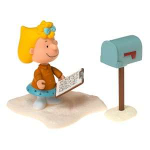 Sally Brown Charlie Brown Christmas Action Figure from Peanuts : Toys