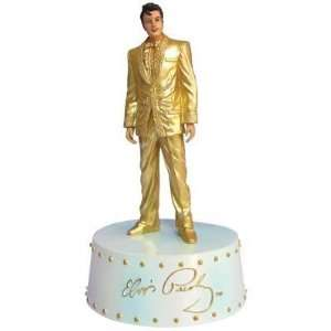 Elvis Presley   Gloden Elvis Musical Figurine: Everything