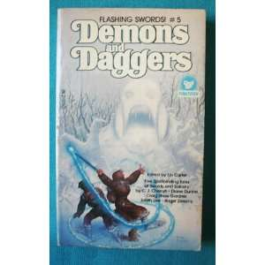 Flashing Swords #5 Demons and Daggers Books