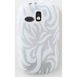 Samsung R355c Green Tribal Soft Silicone Case Cover Skin Protector NET