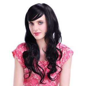 High Quality Long Curly Black Color Classy Soft Hair Full