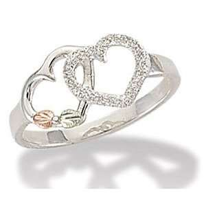 Black Hills Silver Double Heart Ring Jewelry