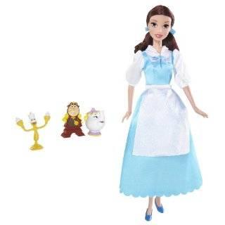 Disney Sparkling Princess Belle Doll  Toys & Games