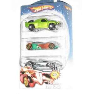 2007 Target Holiday Hot Rods 3 Pack Off Track Collectibles