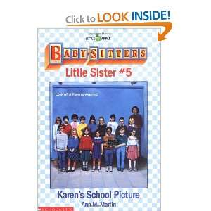 Karens School Picture (Baby Sitters Little Sister, No. 5
